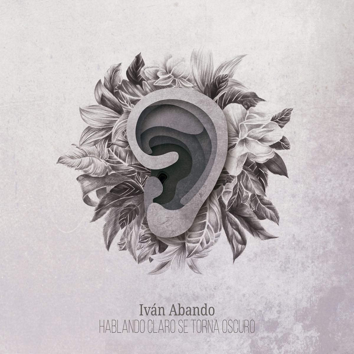 Diseño para disco del rapero zaragozano Ivan Abando Por Laranoia