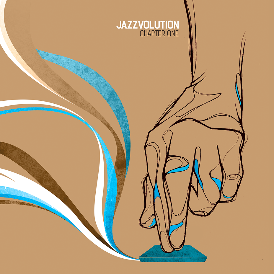 Jazzvolution vinyl collection designed by Laranoia
