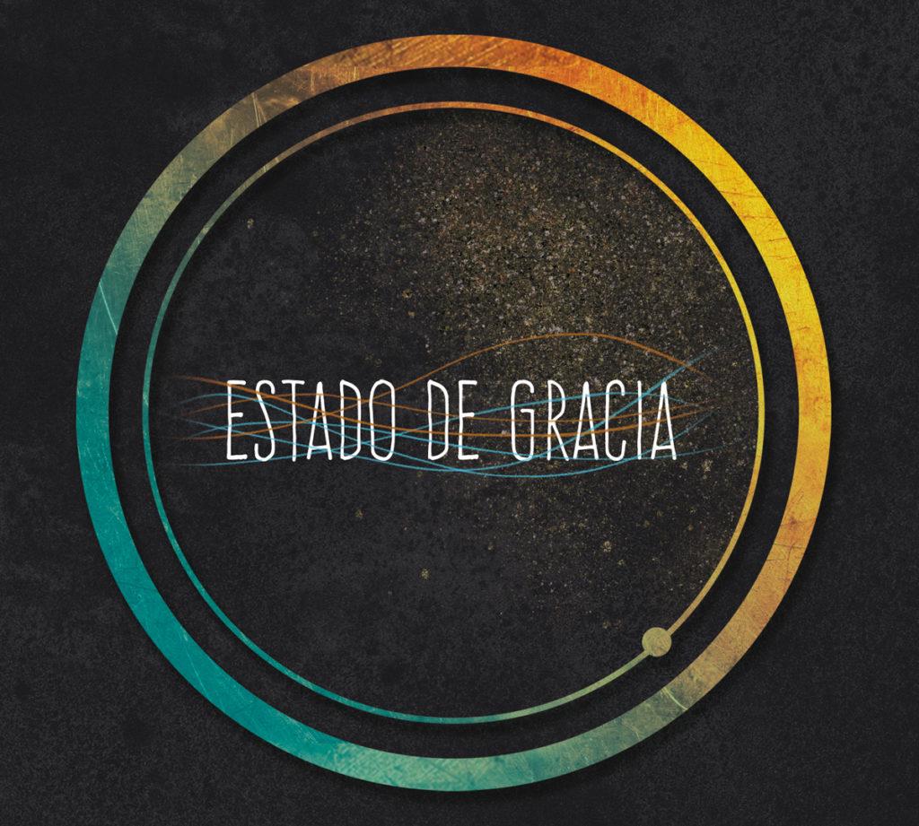 Diseño por Laranoia para el disco de Ossian y Nachodowntempo, titulado Estado de gracia y editado en 2019 en Zaragoza