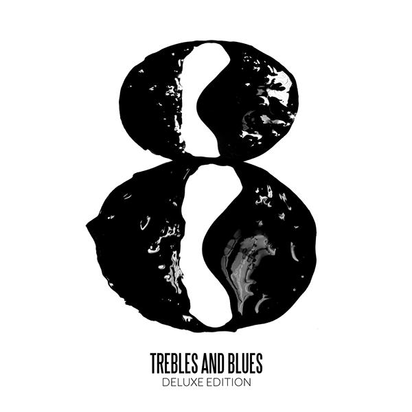 Diseño para el lanzamiento de Eighth Notes de Trebles&Blues a través de The Find Mag