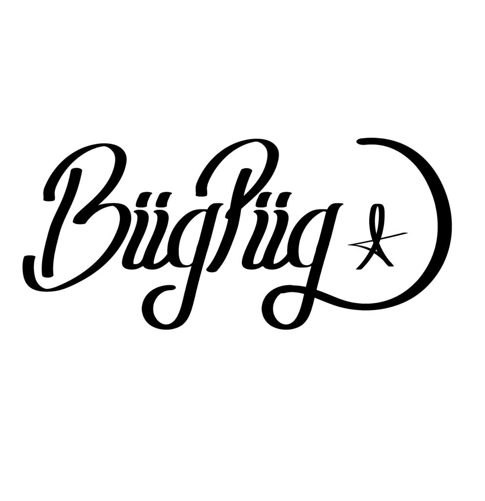 Biig Piig lettering