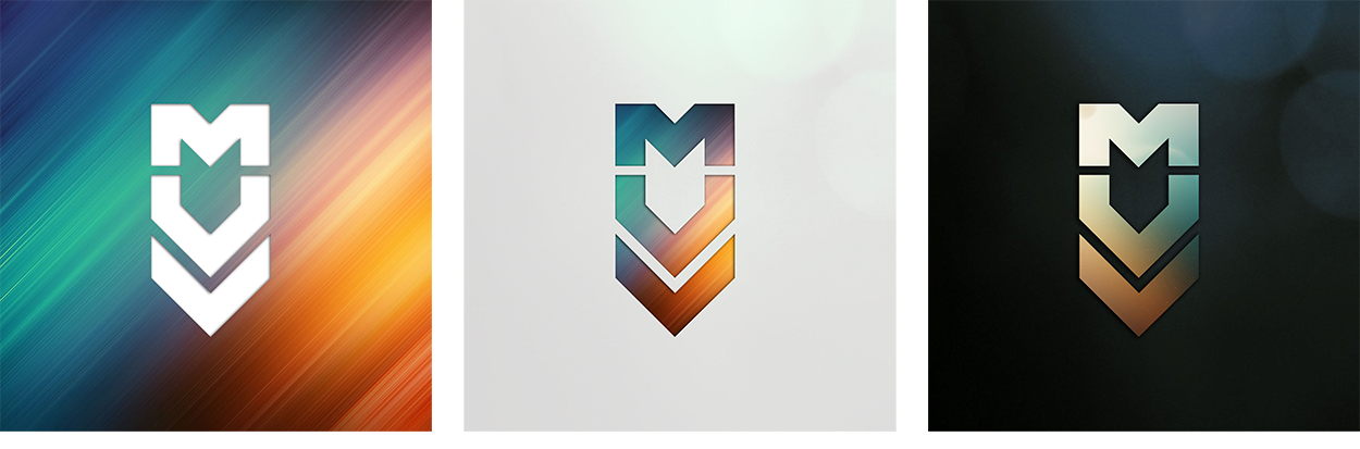 Diseño de logotipo y papeleria para MUV, estudio audiovisual, por Laranoia, diseñadora grafica de Zaragoza
