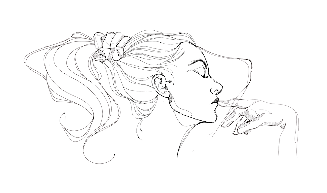 Portrait illustration by Laranoia