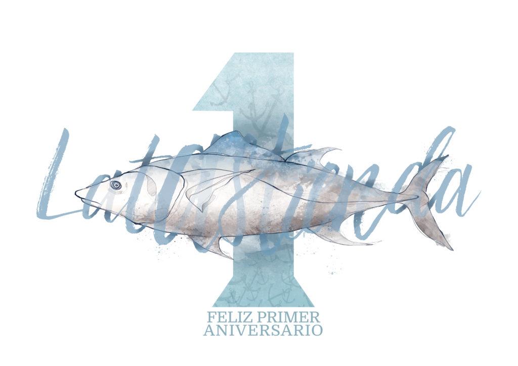 Ilustracion por el primer aniversario de latastienda